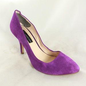 INC International Concepts Sued Classic Pump Heels